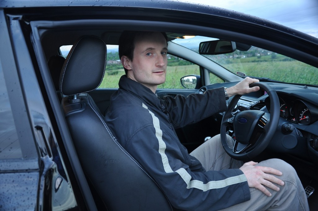 Ford Fiesta Metal 1-6 TiVCT Duratec 134PS Road Test Review by Oliver Hammond - driving pose