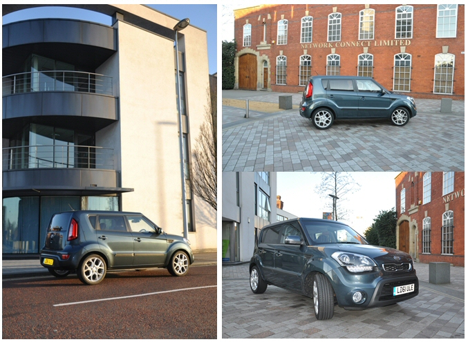 Kia Soul Hunter 1-6 GDi petrol - Road Test Review by Oliver Hammond - combined exterior design