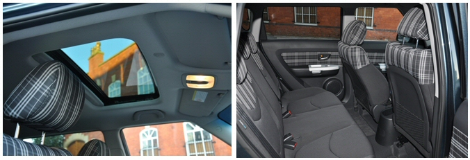 Kia Soul Hunter 1-6 GDi petrol - Road Test Review by Oliver Hammond - combined sunroof