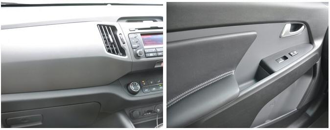 Kia Sportage 2-0 CRDi KX-2 AWD road test review - combined 1