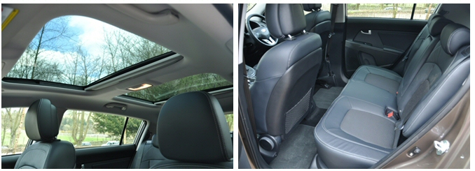 Kia Sportage 2-0 CRDi KX-2 AWD road test review - combined 2