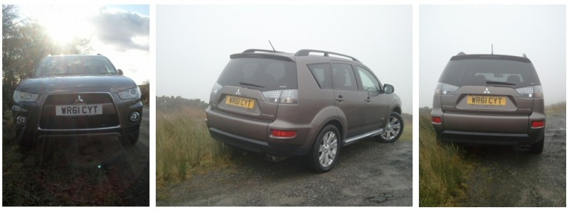 Mitsubishi Outlander 2-2 DI-D Manual GX4 – Road Test Review by Oliver Hammond - combined exterior