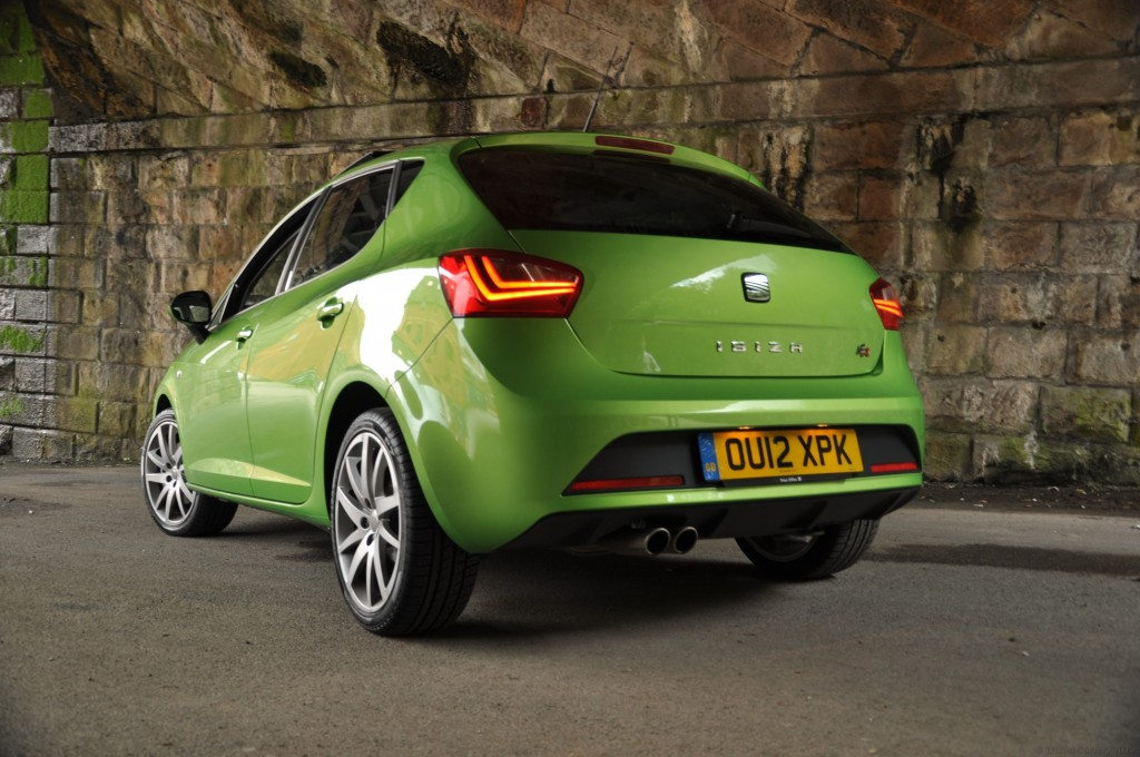 New 2012 SEAT Ibiza 5dr FR 2-0 TDI 143PS road test review by Oliver Hammond - photo - Stalybridge arches 9