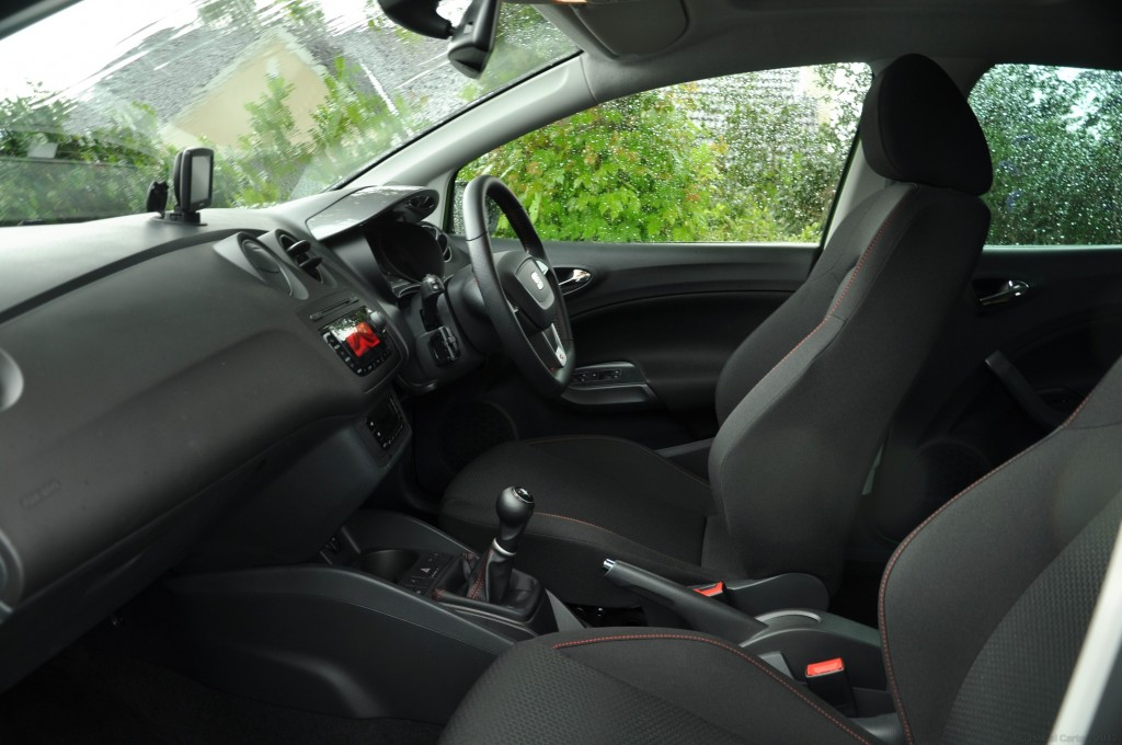 New 2012 SEAT Ibiza 5dr FR 2-0 TDI 143PS road test review by Oliver Hammond - photo - front seats