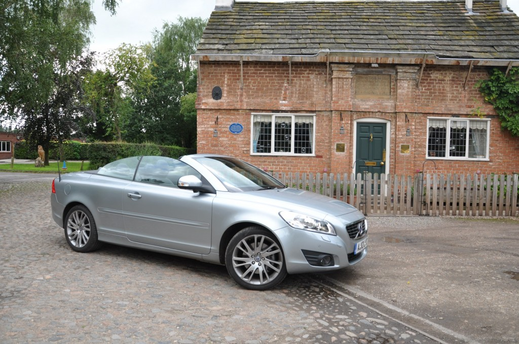 Volvo C70 D3 150PS Geartronic SE Lux Solstice road test review by Oliver Hammond - Ashley Cheshire photo