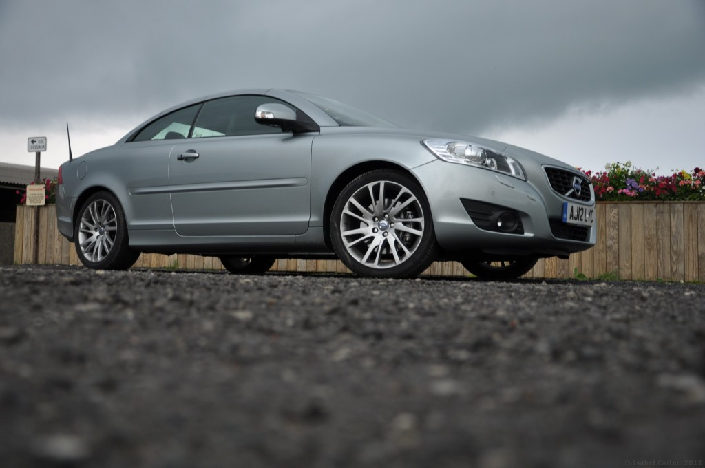 Volvo C70 D3 150PS Geartronic SE Lux Solstice road test review by Oliver Hammond - photo Embsay Skipton photo