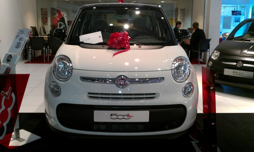 Fiat 500L car launch - My Car Coach - Front
