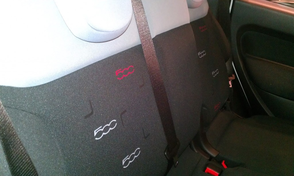 Fiat 500L car launch - My Car Coach - Seats