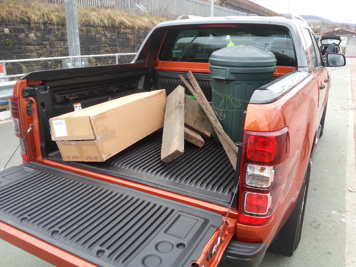 2012 Ford Ranger Wildtrak 3-2 diesel automatic road test review by Oliver Hammond photo - loaded 3