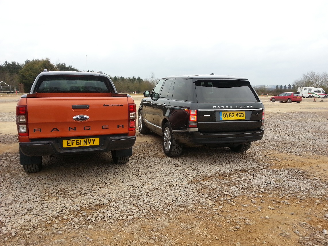 2012 Ford Ranger Wildtrak 3-2 diesel automatic road test review by Oliver Hammond photo - new Range Rover JLR