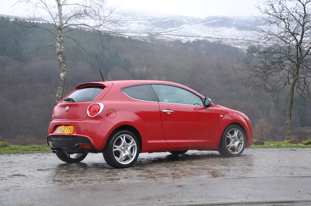 Alfa Romeo MiTo MultiAir Distinctive 1-4 Petrol 135BHP TCT road test review by Oliver Hammond - photo rear 34