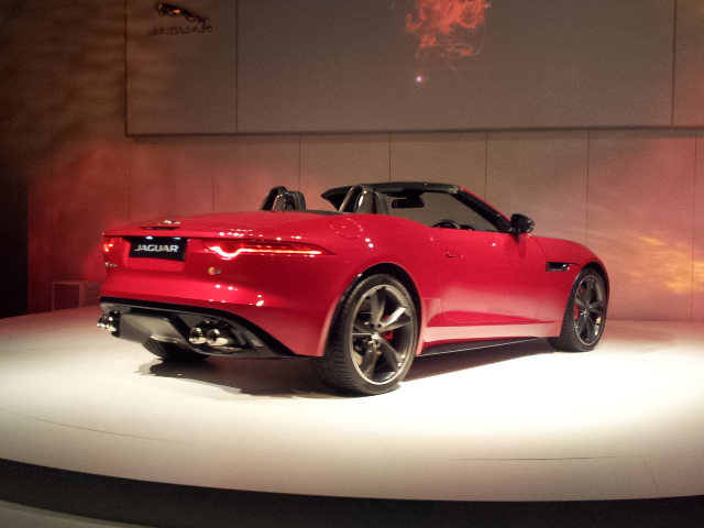 Jaguar F-Type Launch by Nick Johnson